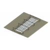Raised Light Cover Base Kit with 1m Extention