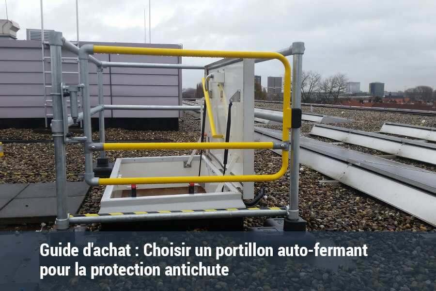 Choisir un portillon auto-fermant de protection antichute